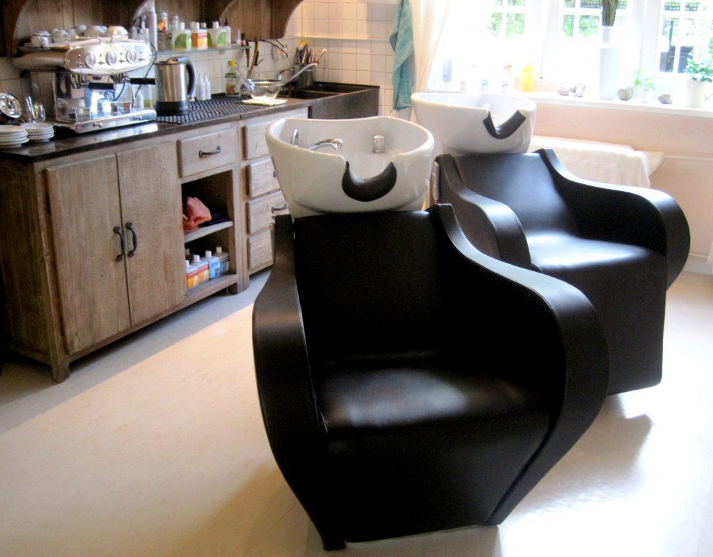 shiatsu-Massagesessel beim Naturfriseur Molinari