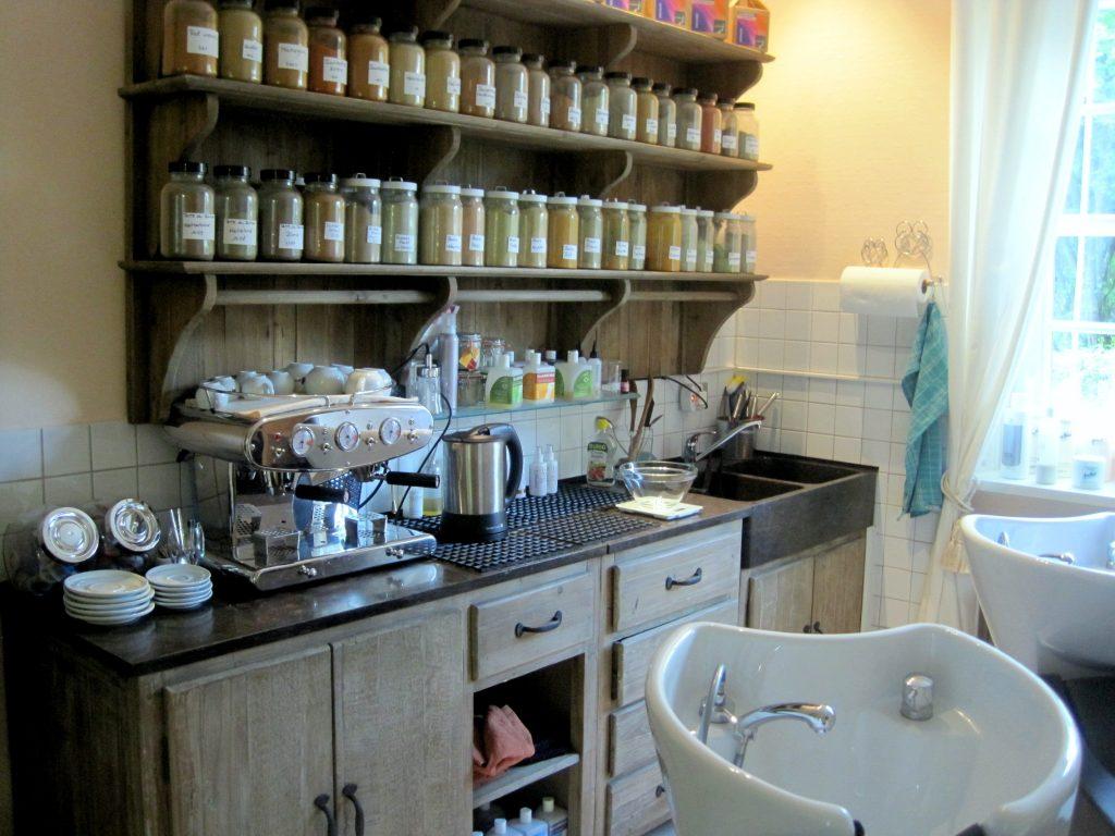 Waschraum Naturfriseur Molinari