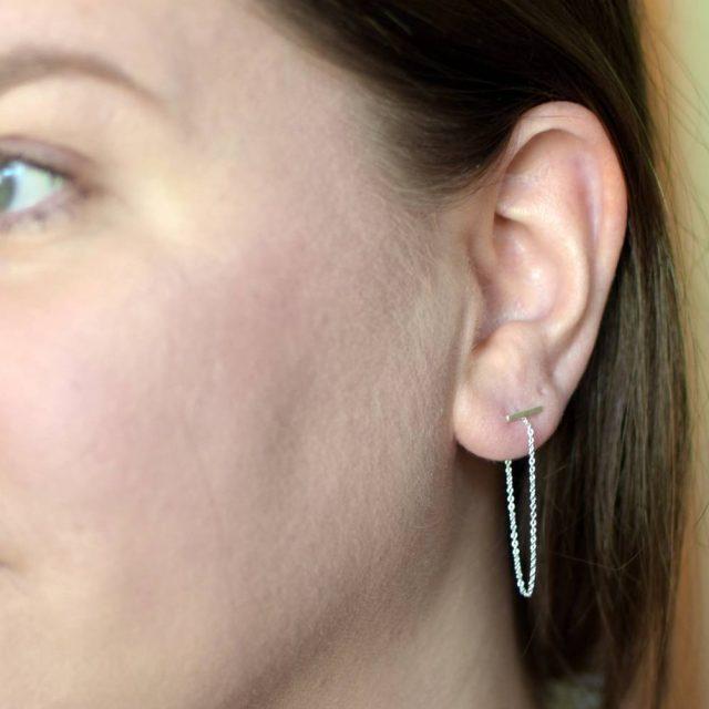 Ich wollte ja noch ein Tragebild meiner neuen Ohrringe derhellip