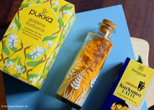 Kurkuma-Liebe im Herbst: Tees, Goldene Milch und Gesichtsmaske
