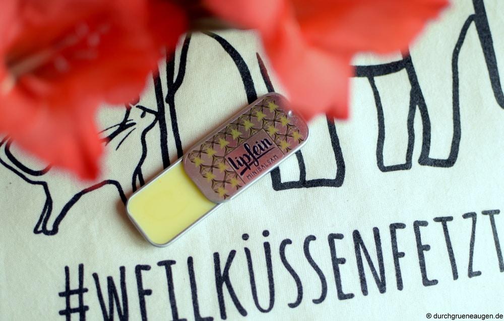 Lippenbalsam Vanille der Firma lipfein