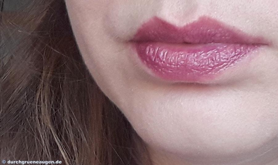 Tragebild vom Lippenstift Maleen der Cremekampagne