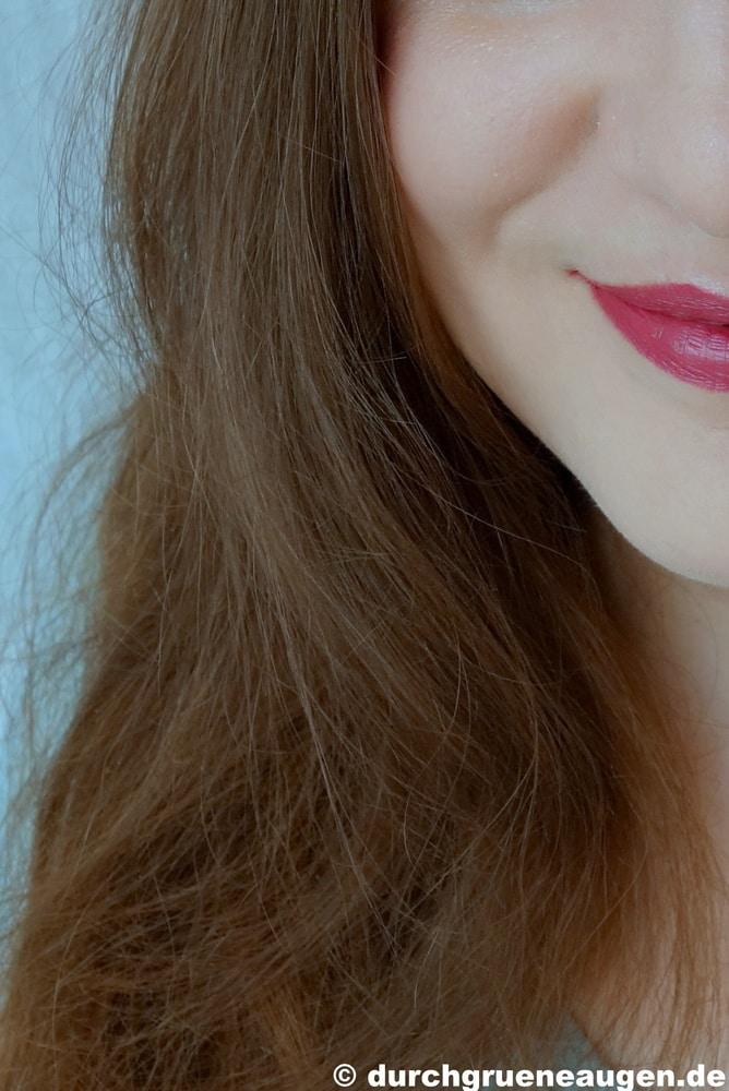 Hält haarfarbe khadi lange wie Wie lange